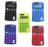 Solar Pocket Calculator, Package of 12