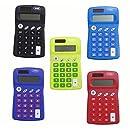 Solar Pocket Calculator, Package of 12