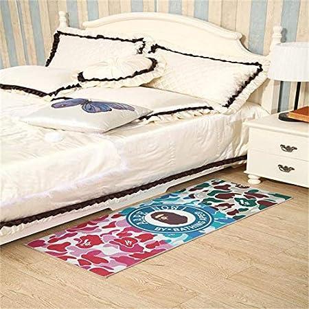 BAPE A Bathing Ape Carpet Door Rug bedroom Living room Anti-Slip floor Mats New!