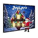 Kyпить 120-Inch outdoor Projector Screen Home Theater/Cinema or Presentation Platform - 16:9 Portable Projector Screen - Suitable for HDTV/Sports/Movies/Presentations (120 inch) на Amazon.com