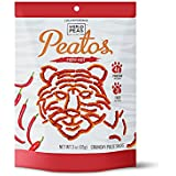 World Peas Peatos Fiery Hot, 4 Count, Pea and Lentil Based Protein and Fiber, Crunchy Snack Food, Non-GMO No Added MSG, Gluten-Free
