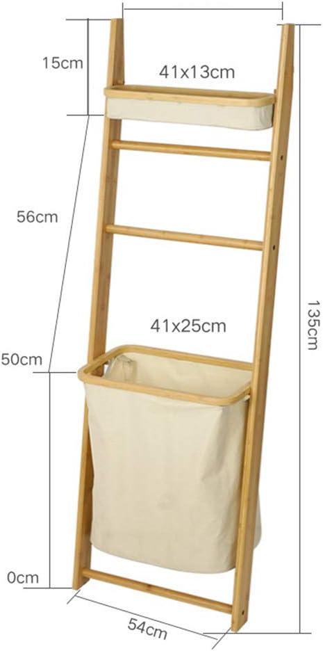 FEI Estantería Estante, Escalera Multifuncional con Forma de Bolsa de Almacenamiento para Toallas, Productos de Belleza, loción, jabón, Papel higiénico, Accesorios (Tamaño : Storage Bag 41 * 25cm): Amazon.es: Hogar