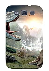 LwFaIzf1405vZgPj Crazinesswith Awesome Case Cover Compatible With Galaxy S3 - Walking With Dinosaurs 3d
