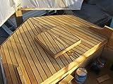 84 inch long TEAK WOOD Tongue & Groove - 100% heartwood, 40 square feet