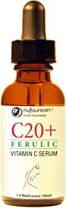 NuFountain® C20® Ferulic Vitamin C Serum. Made Fresh When Ordered with Free Shipping
