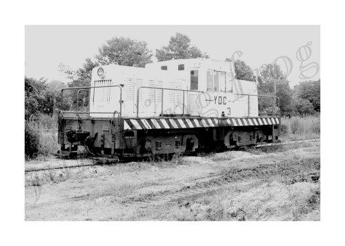 (Yankeetown Dock Corporation diesel locomotive #3 5x7)