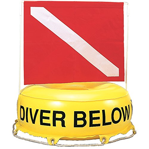 (Innovative Scuba Deluxe Flag Diver Below Inflatable Flag And Float Buoy, FL0301)