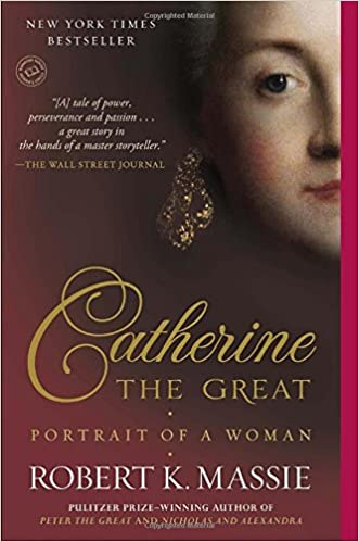 Image of book cover Catherine the Great:Portrait of a Woman