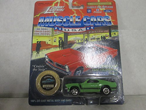 Johnny Lightning Muscle Cars 1970 Boss 302 Green Series ()