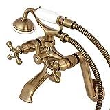 Best Kingston Brass hand shower - Kingston Brass KS269AB Wall Mount Tub Filler Faucet Review