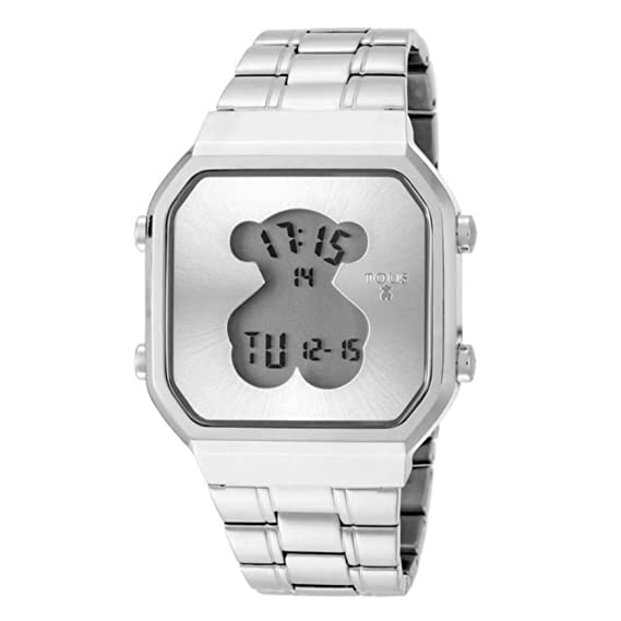841faaa1fc Reloj Tous D-Bear SQ de acero Ref:600350275 Mujer: Amazon.es: Relojes