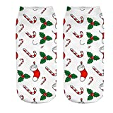 GzxtLTX Ankle Socks Single Socks Ugly Christmas Socks Holiday Festive Design