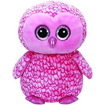 90c5beee323 Amazon.com  Ty Beanie Boos Buddies Pinky Pink Barn Owl Medium Plush ...