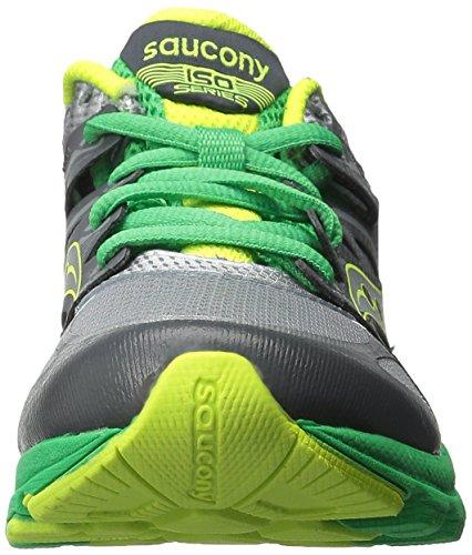 Saucony Zealot Boys (Grey/Green/Citron)