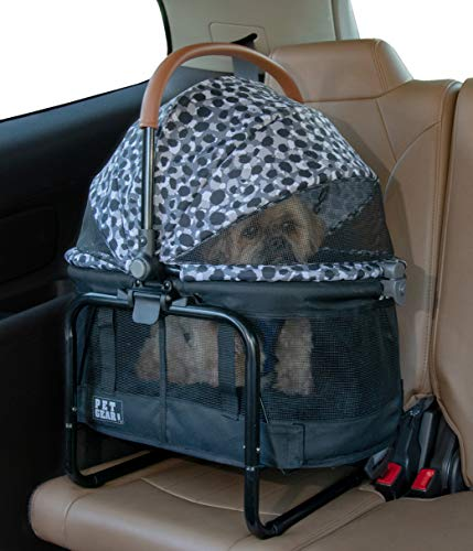 Pet Gear View 360 Pet Carrier & Car Seat with Booster Seat Frame for Small Dogs & Cats with Mesh Ventilation for Easy…