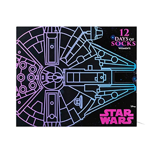 Limited Edition 2018 Star Wars 12 Days of Socks Women's Size