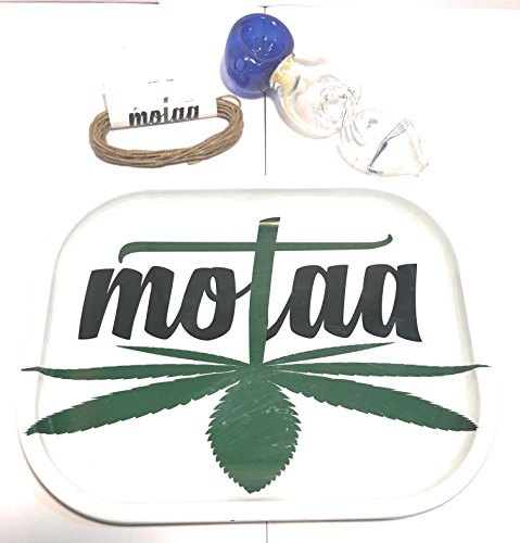 MOTAA Rolling ash Tray with 10ft of Hemp Wick 8 Scissor (4 INCH)