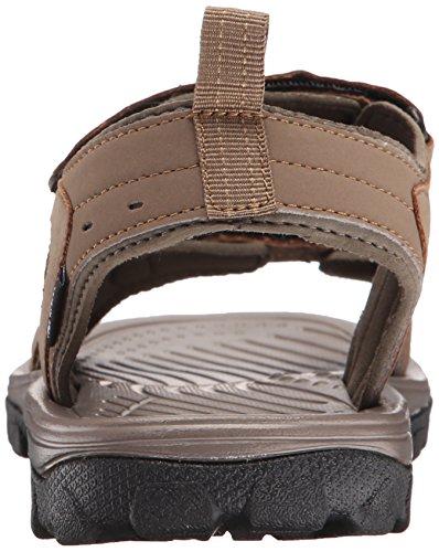 Sandal Medium Open Toe Northside Men's Brown Riverside II wqPPv1