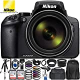 Cheap Nikon COOLPIX P900 Digital Camera with 83x Optical Zoom and Built-In Wi-Fi (Black) + Ultimate 96GB Accessory Kit. Includes 2X SanDisk Ultra Memory Cards + Wide Angle & Telephoto Lenses + MUCH MORE