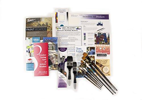 Silver Brush 12 Piece Tom Lynch Workshop Brush Set by Silver Brush