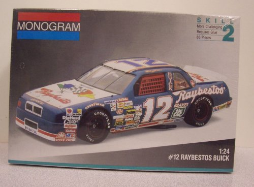 Monogram #2431 #12 Raybestos Buick Regal 1/24 plastic kit