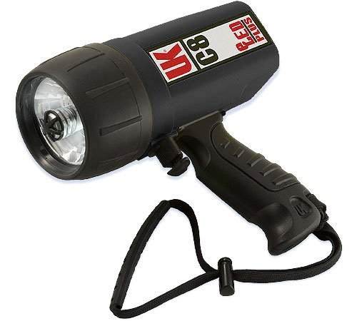 Underwater Kinetics Black Dive Light (UK - Underwater Kinetics C8 - Eled Plus - Dive Light, Black)