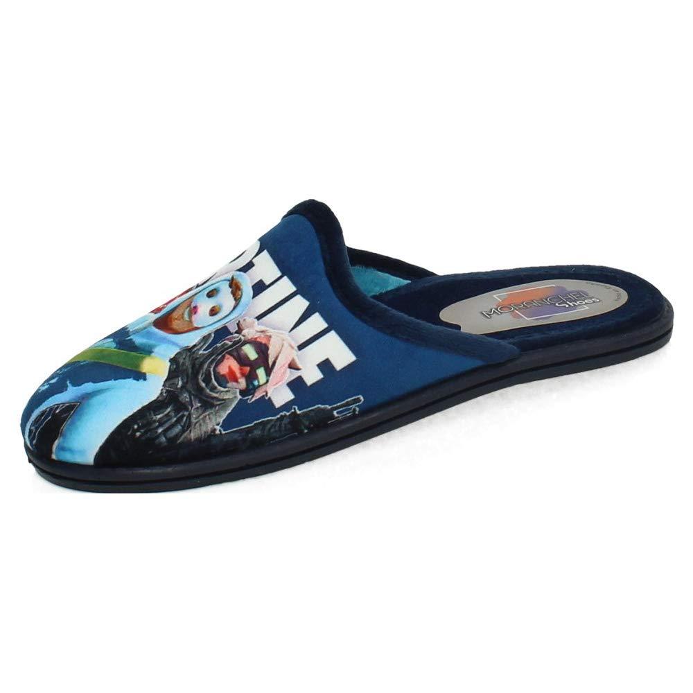 Moranchel Shoes 3404 Suapel Marino MORANCHEL 3404 Zapatilla DE Estar EN CASA Ni/ño