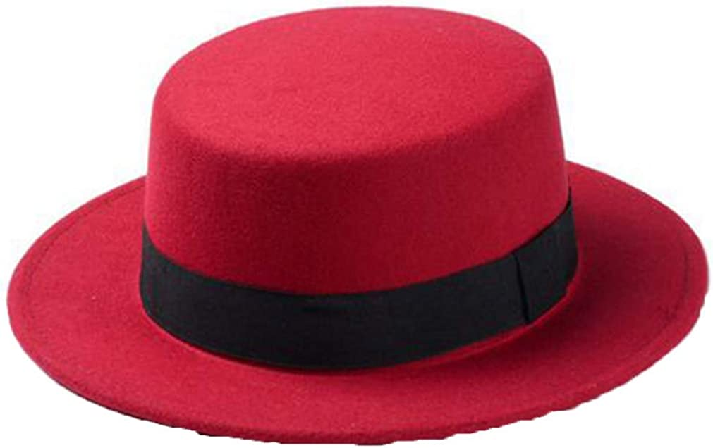 Women's Wool Felt Wide Brim...