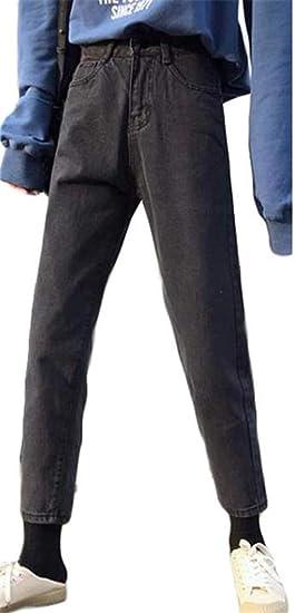[ジンニュウ]レディース デニム ワイドパンツ ゆったり ロングパンツ ストレート ジーンズ 韓国ファッション ストレートパンツ 原宿系