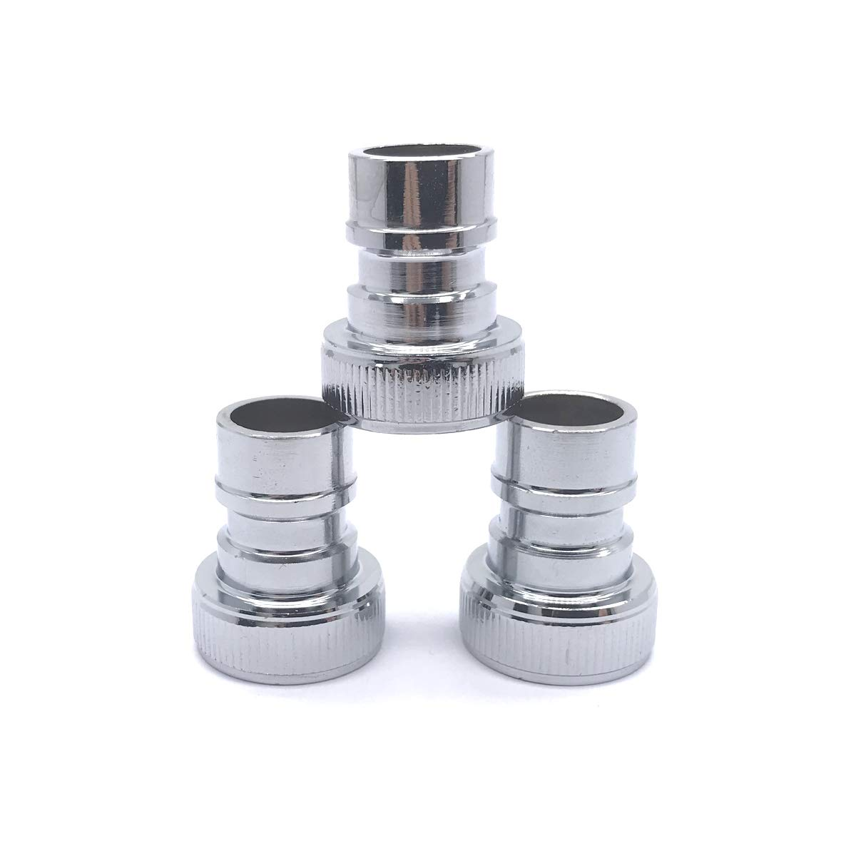 3Pcs Brass Faucet Tap Quick Connector G1//2 Female Thread Hose Pipe Socket Adapter Fitting for Dishwasher Washing Machine