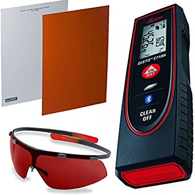 Leica DISTO E7100i Laser Distance Meter w/ GZM26 Target Plate & GLB30 Glasses