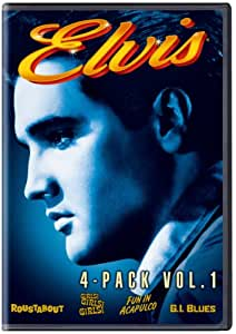 Elvis 4-Movie Collection Vol 1 (4pk)