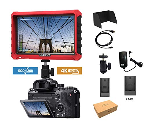 Lilliput A7s Full HD 7 Inch Monitor With 4K Camera Assist (Best Mirrorless Camera Comparison)