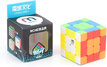 Cubelelo MeiLong 4x4 Stickerless Elite-M (Magnetic) Puzzle Rubik Rubic Rubix Speed Cube