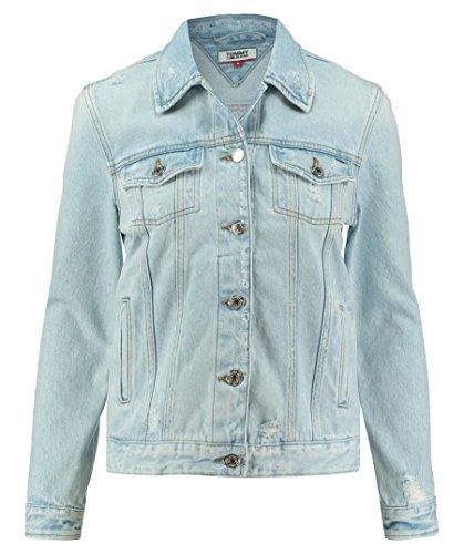 stappi in Tommy trucker con jeans Donna Taglia M Jeans Giubbotto 00qCgTw