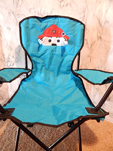 Personalized Fire Pup Folding Chair (CHILD SIZE)