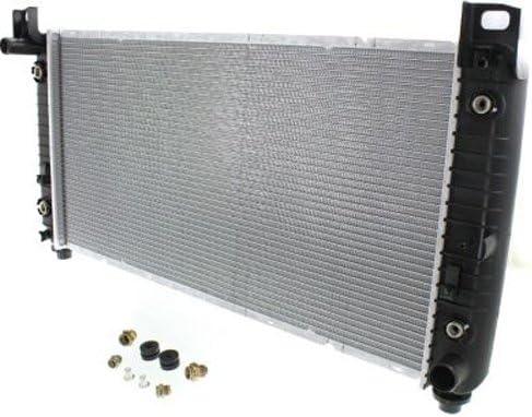 NEW RADIATOR PLASTIC AND ALUMINUM FITS 2007-13 CADILLAC ESCALADE 22840115