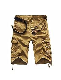 WINSON Men Summer New Military Camo Cargo Shorts Overall Combat Casual Short Pants
