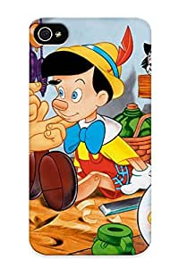 Freshmilk Protection Case For Iphone 4/4s / Case Cover For Christmas Day Gift(pinocchio Pinocchio )