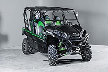 Kawasaki Teryx Full Tilting Utv Windshield 4 Seater And 2 Seater 2016 And Newer Made In Usa Best Of Both World Half When You Want And Full When You