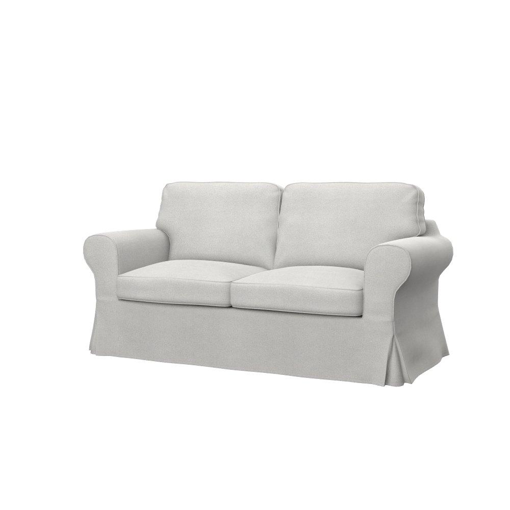 Soferia - IKEA EKTORP 2-seat sofa cover, Glam Beige