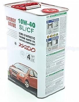 Xado Atomic Oil 10 W40 Sl Cf Motor Oil Motor Oil Vw Bmw Mb Release 4 L Auto