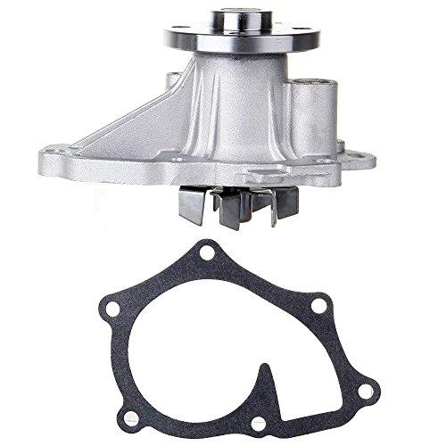 Engine Water Pump with Gasket,ECCPP fits 2001-2011 Toyota Camry Matrix Corolla RAV4 Solara 2005-2012 Scion TC XB 2.4L L4 DOHC