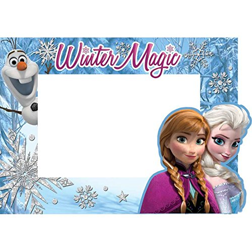 SaveMax Disney Frozen Trio Elsa Anna Olaf Picture Frame by SaveMax