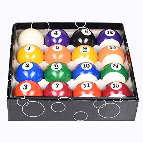 High Numbered - Pool Balls Set 2-1/4