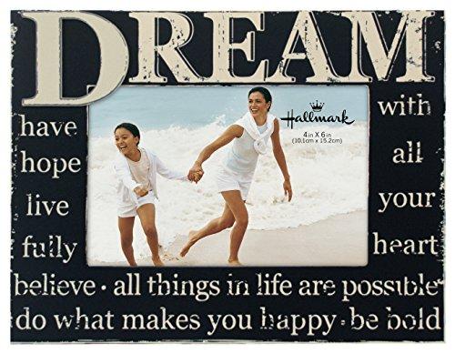 Hallmark Collectible Photo Frame (Dream Distressed, 4x6)
