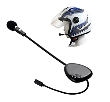 Motocicleta Casco Bluetooth para auriculares inalámbricos de comunicación de moto manos libres Mono Bluetooth 3.0 Headset Communicator Interphone para ...