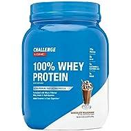 CHALLENGE By GNC 100% Whey Protein, Chocolate Milkshake, 2.07 Pound