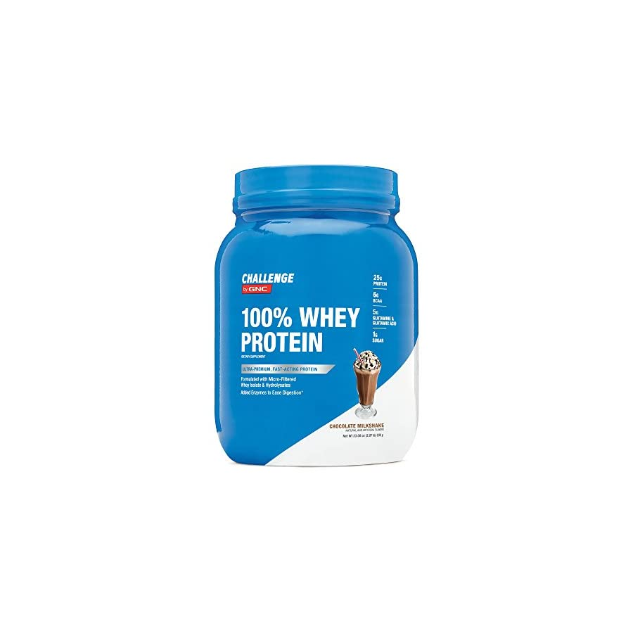 Challenge by GNC 100% Whey Protein