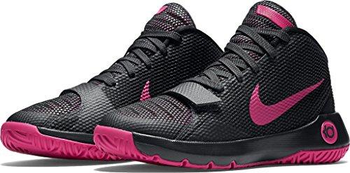 Zapatos Kd Trey 5 Iii Gs de baloncesto Nike Boys '(negro / amarillo, 5) ANTHRACITE/BLACK/VIVID PINK